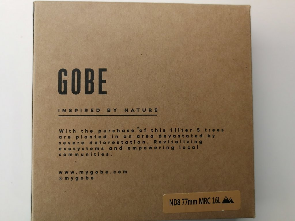 Gobe filter package